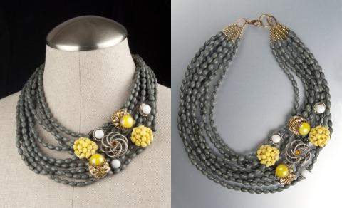 Jenne Rayburn Custom Vintage Costume Jewlery Necklace