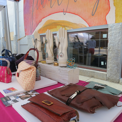 Jenne Rayburn Handbags and Jewelry at SoWa Boston