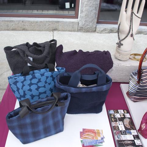 Jenne Rayburn Wool, Linen and Cotton Handbags