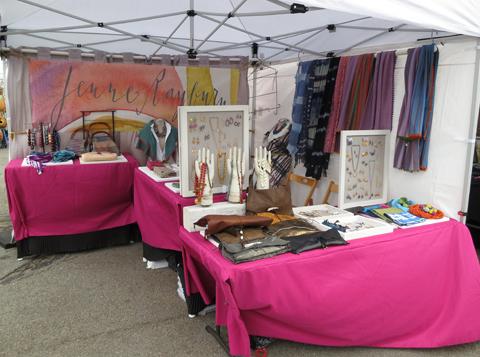 Jenne Rayburn SoWa Craft Booth