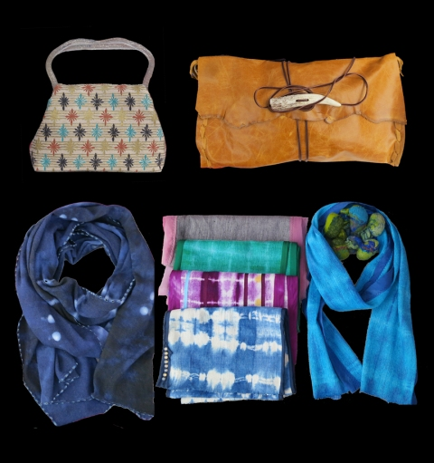 Designer Handbags and Scarves by Jenne Rayburn