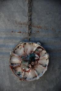 Enamel Copper Cap By Jenne Rayburn