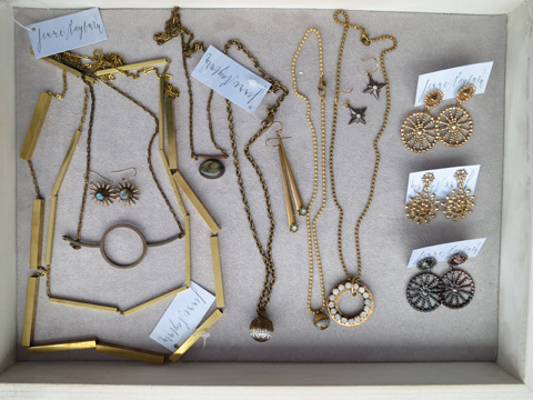 Jenne Rayburn Brass Jewelry