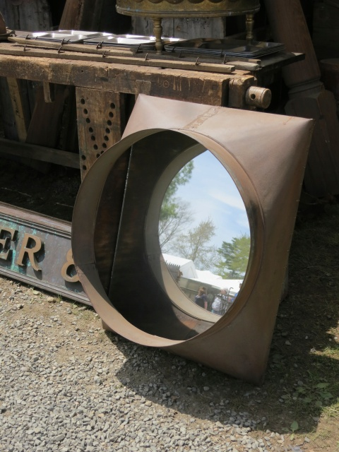 Industrial Chic Mirror