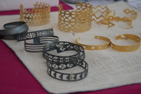 Handcrafted Cuff Bracelets by Jenne Rayburn