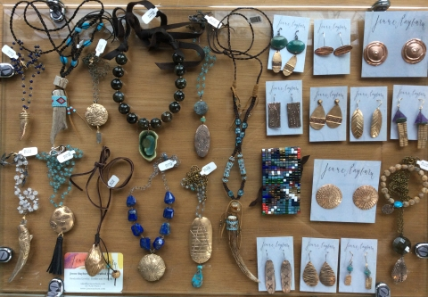 bronze-jewelry-sculpure-necklace-jenne rayburn