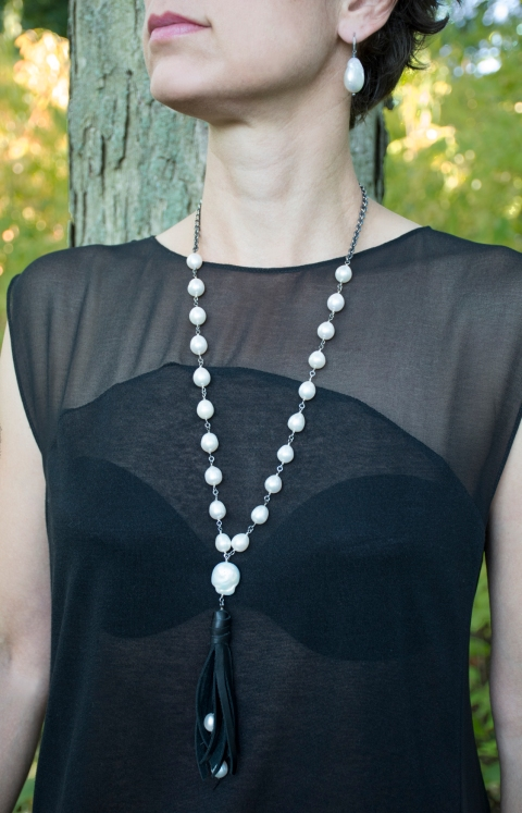 pearl-necklace-leather-jewelry-jenne rayburn