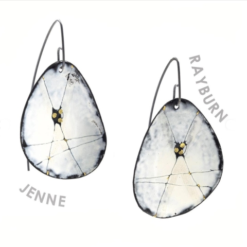 jenne rayburn-metalwerx-jewelry-enamel-earrings